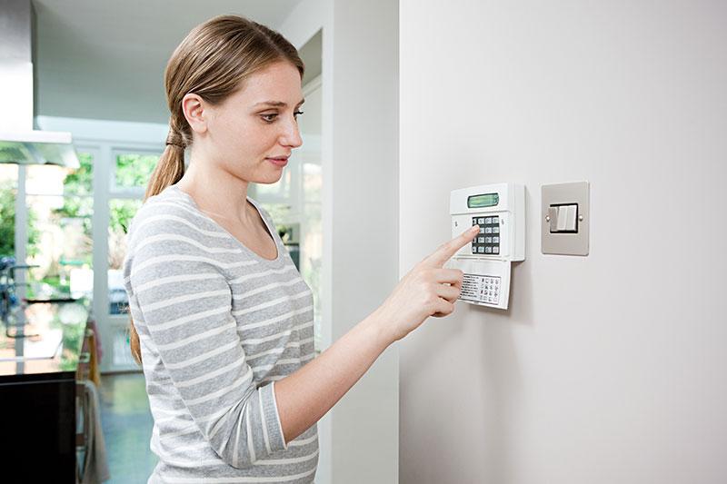 Installation et dépannage d'alarme de maison et incendie à